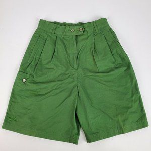 Ellesse Women's Shorts Size 44 Green 100% Cotton